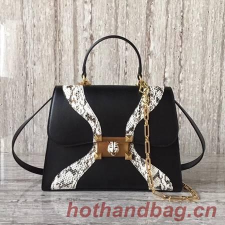Gucci GG original medium top handle bag 476435 black