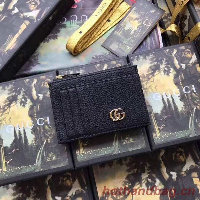 Gucci Card Holder 574804 Black
