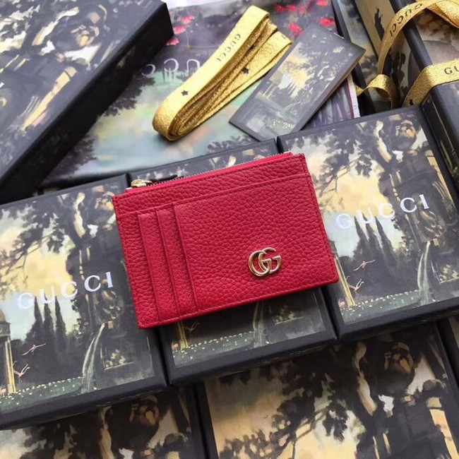 Gucci Card Holder 574804 Red