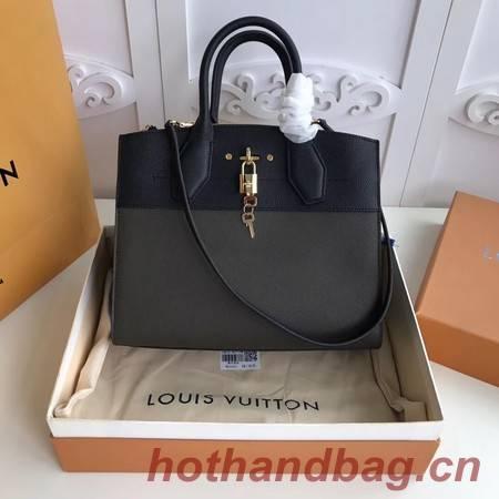 Louis Vuitton Original Leather CITY STEAMER PM M55062 Apricot&Black