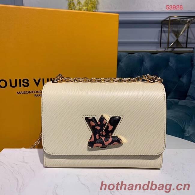 Louis Vuitton TWIST EPI Leather Bag M53928 White