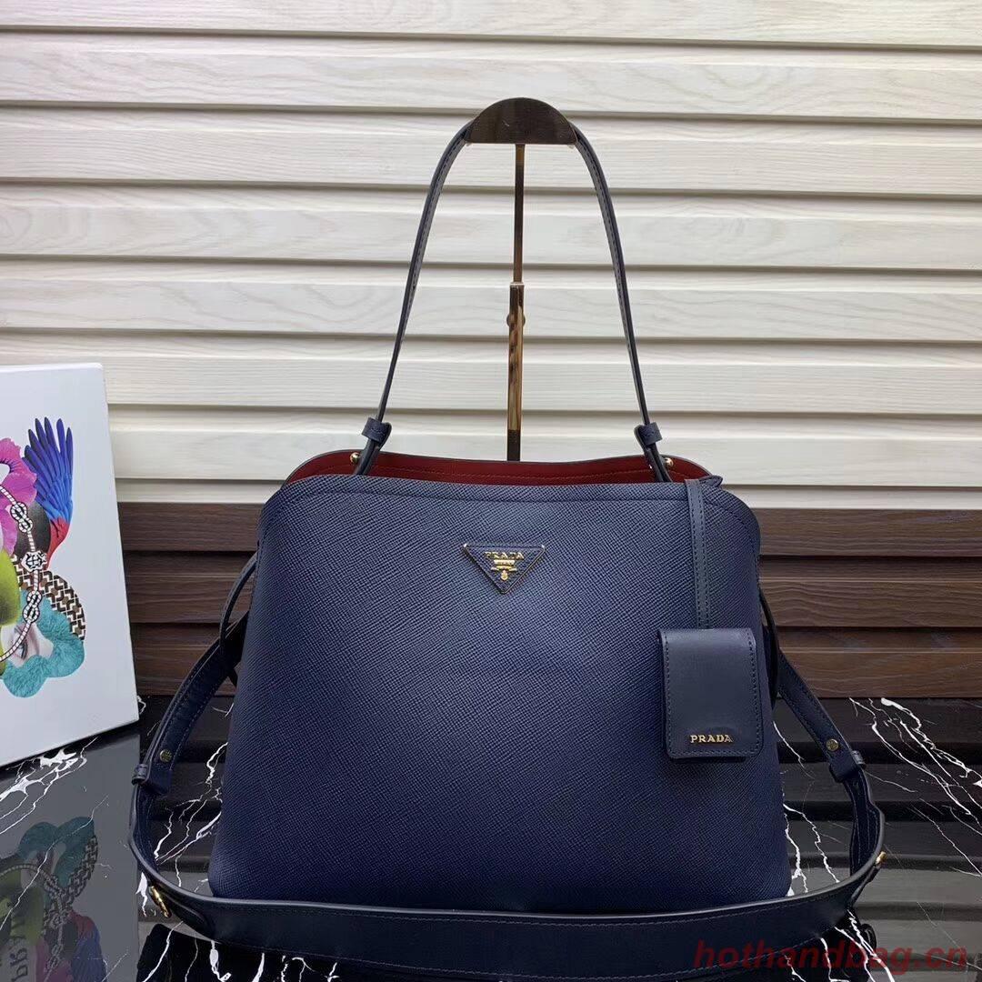 Prada Matinee handbag 1BA249 Blue