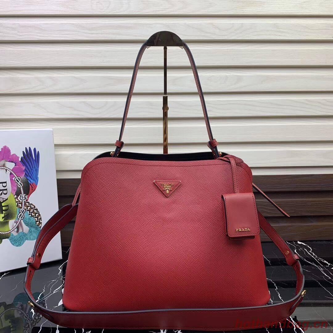 Prada Matinee handbag 1BA249 Red