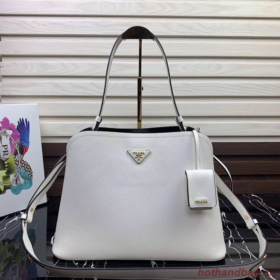 Prada Matinee handbag 1BA249 White
