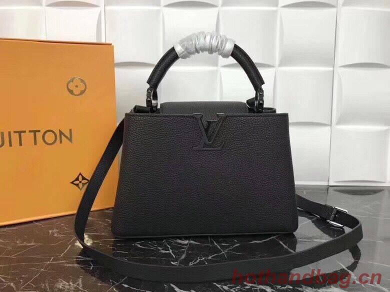 Louis Vuitton original Elegant Capucines BB Bags M94517 Black
