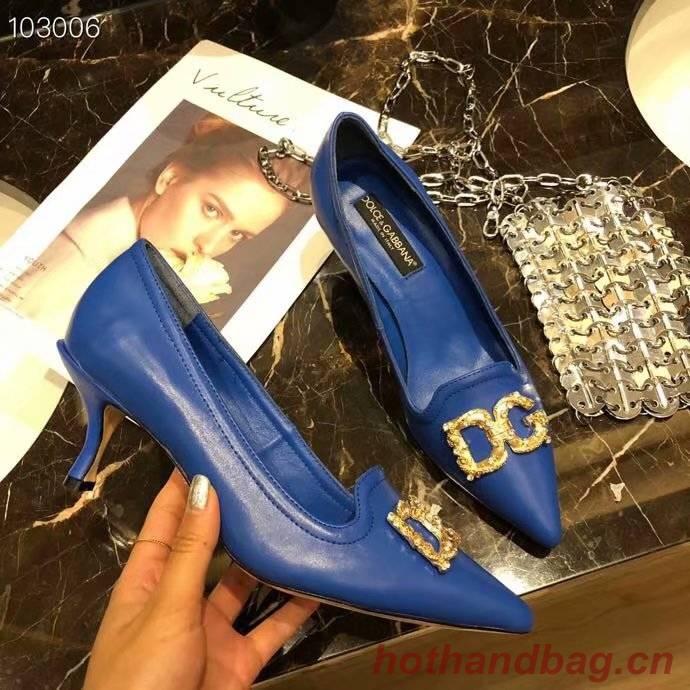 Dolce & Gabbana 6CM High Heels Shoes DG447SJC-1