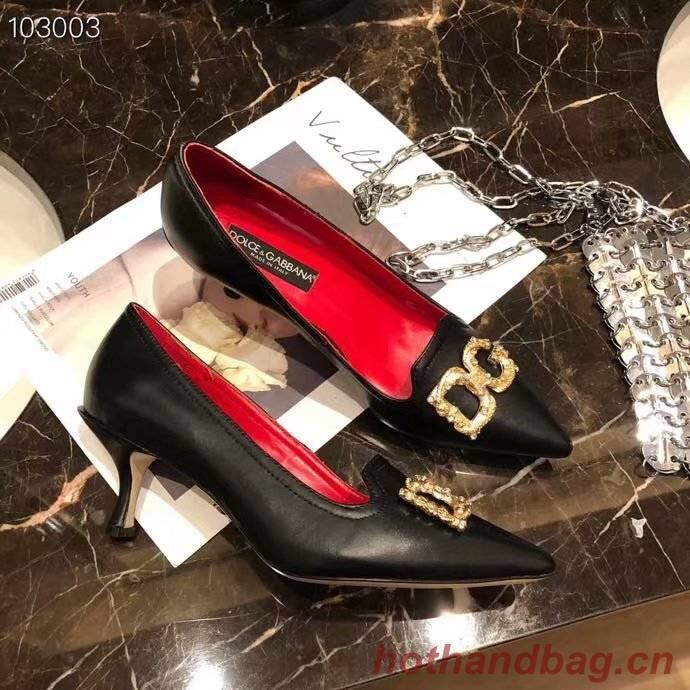 Dolce & Gabbana 6CM High Heels Shoes DG447SJC-4