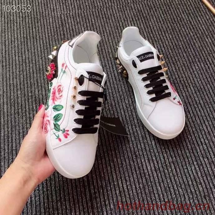 Dolce & Gabbana Flower Shoes DG437FDC-1