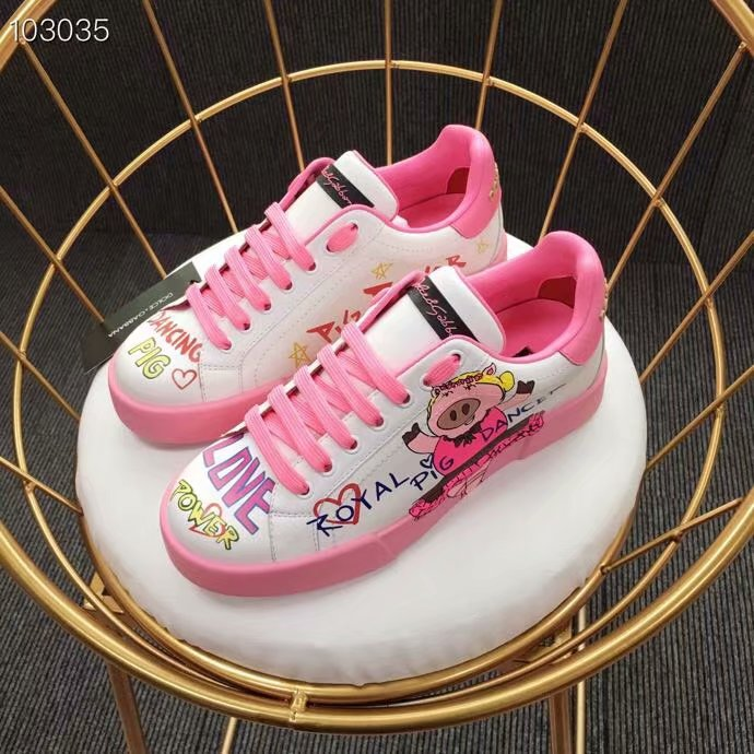Dolce & Gabbana Flower Shoes DG440FDC-2