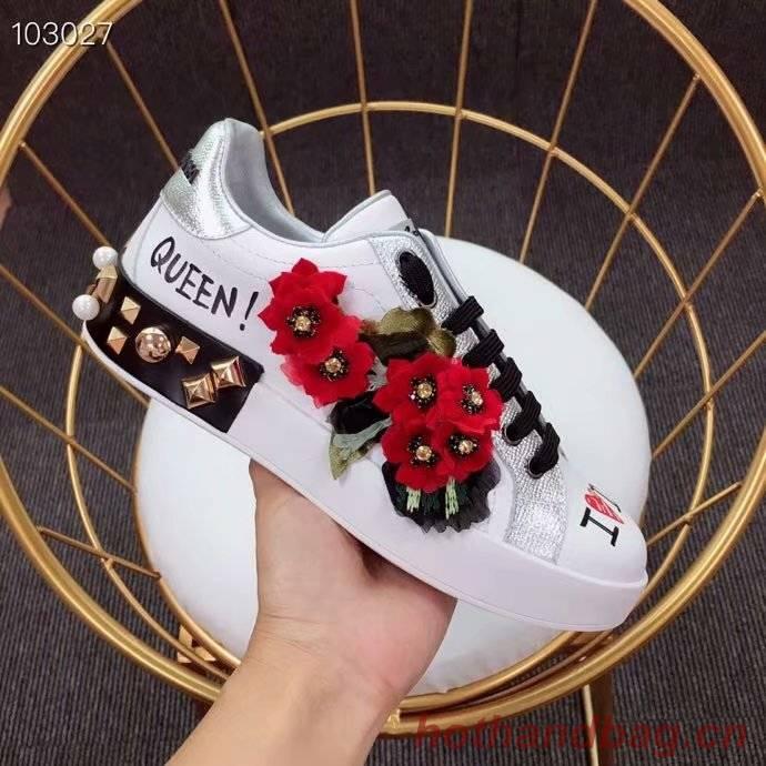 Dolce & Gabbana Flower Shoes DG441FDC-1