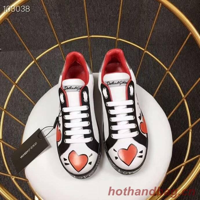 Dolce & Gabbana Flower Shoes DG443FDC-1