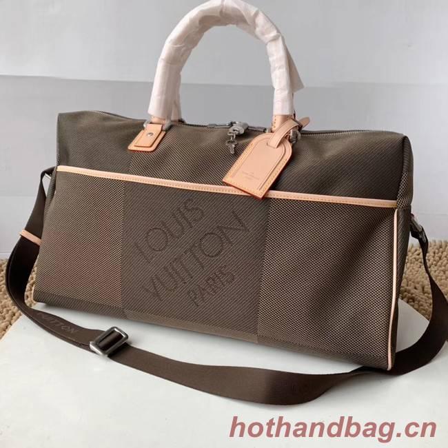 Louis Vuitton Original KEEPALL M93071 grey