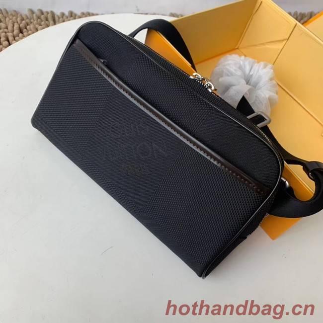 Louis vuitton original BUMBAG Pocket M93619 black