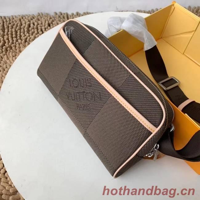 Louis vuitton original BUMBAG Pocket M93619 grey