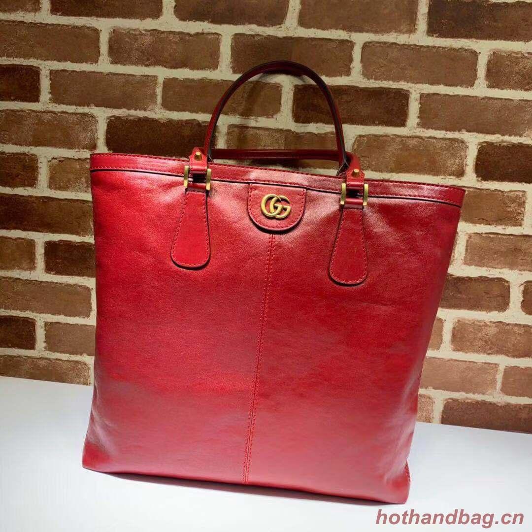 Gucci GG original top handle bag 547851 red