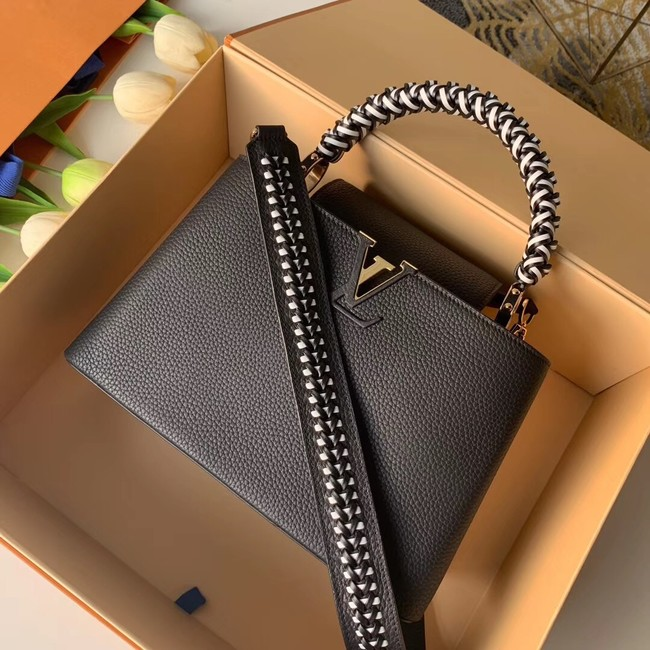 Louis Vuitton CAPUCINES BB M55236 black