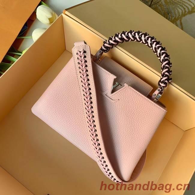 Louis Vuitton CAPUCINES BB M55236 pink