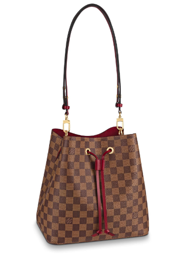 Louis Vuitton Damier Ebene NEONOE N40198 Cherry Berry