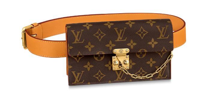 Louis Vuitton S LOCK Chain waist pocket M44667