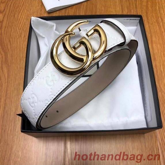 Gucci Belt GB18212 White