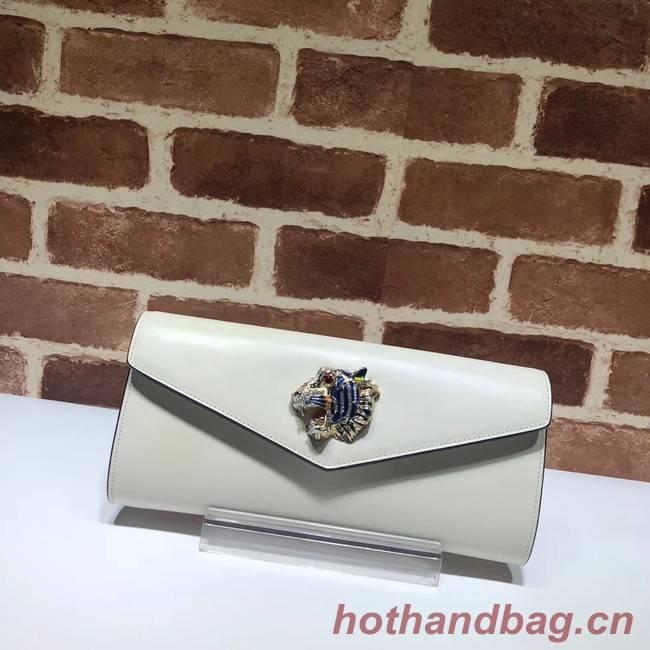 Gucci GG Marmont clutch 576532 white