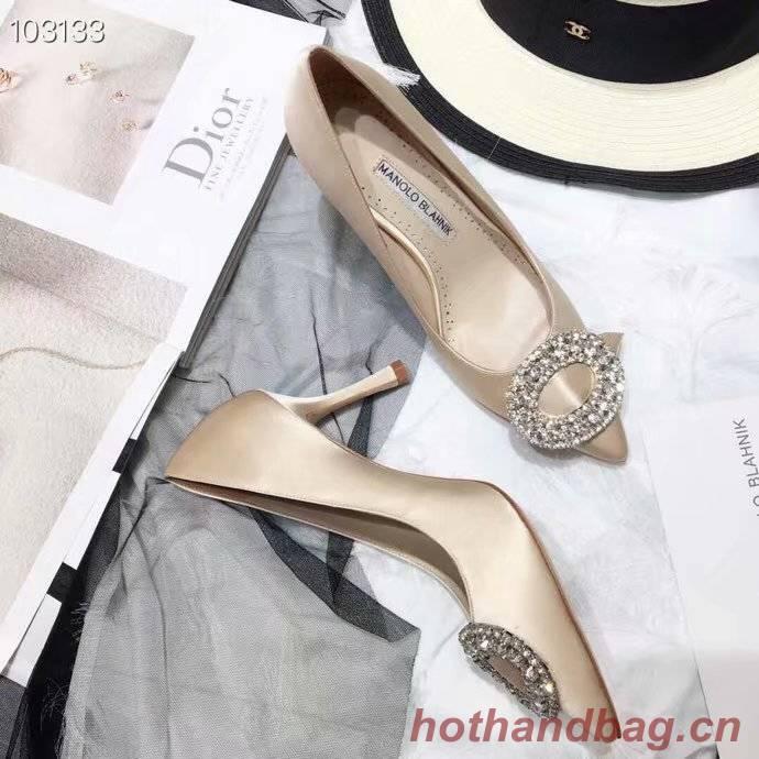 Manolo Blahnik 8CM Heels Shoes MB156QGC-1