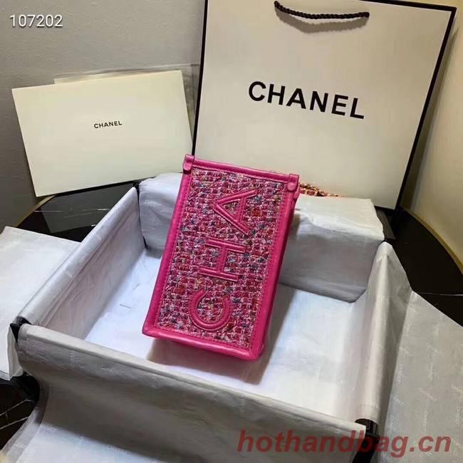 Chanel Shoulder Bag Original Leather 7738 rose