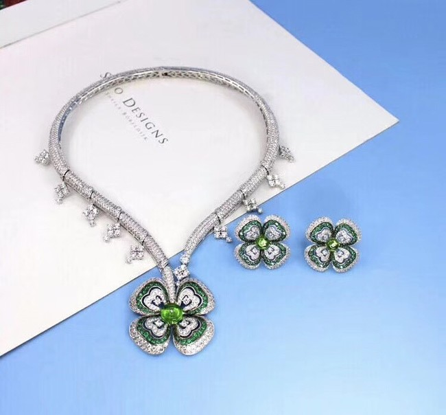 Bvlgari Necklace Earrings A set CE4047