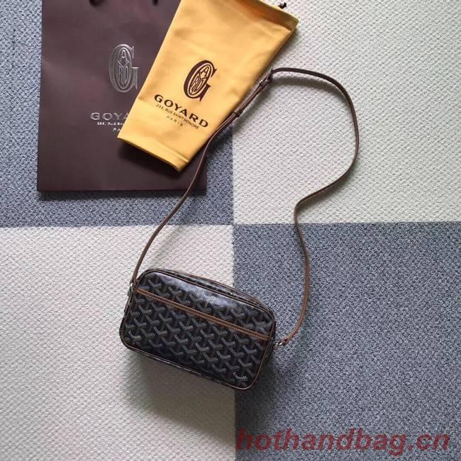 Goyard Calfskin Leather Shoulder Bag 6788 Grey