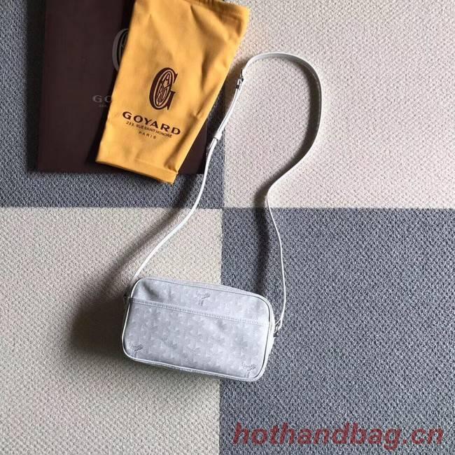 Goyard Calfskin Leather Shoulder Bag 6788 White
