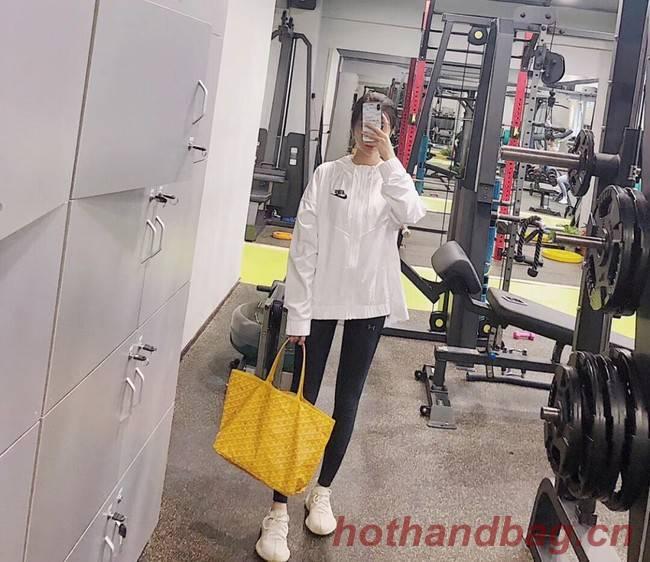 Goyard Calfskin Leather Tote Bag 6783 Yellow
