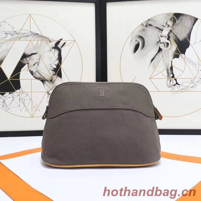 Hermes Cosmetic Bag H3699 Grey