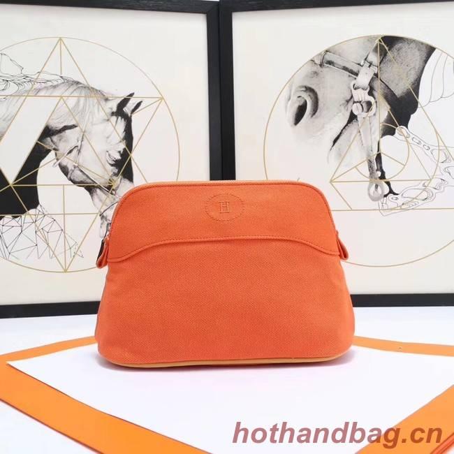 Hermes Cosmetic Bag H3699 Orange