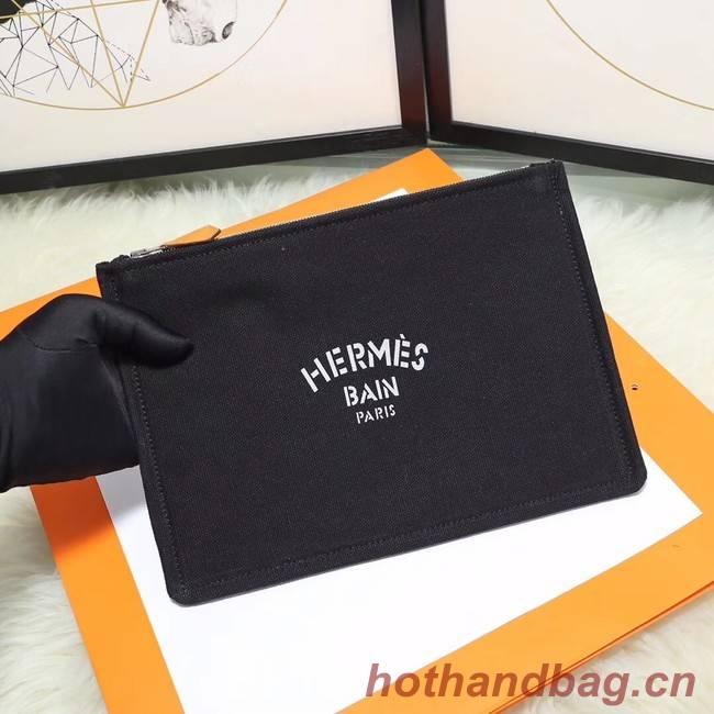 Hermes Cosmetic Bag H3700 Black