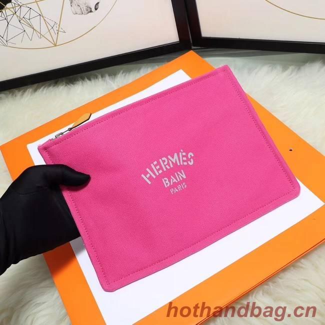 Hermes Cosmetic Bag H3700 Rose