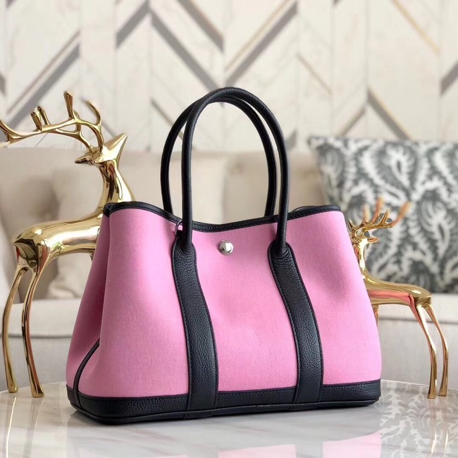 Hermes Garden Party 36cm Tote Bags Original Leather A3698 Pink
