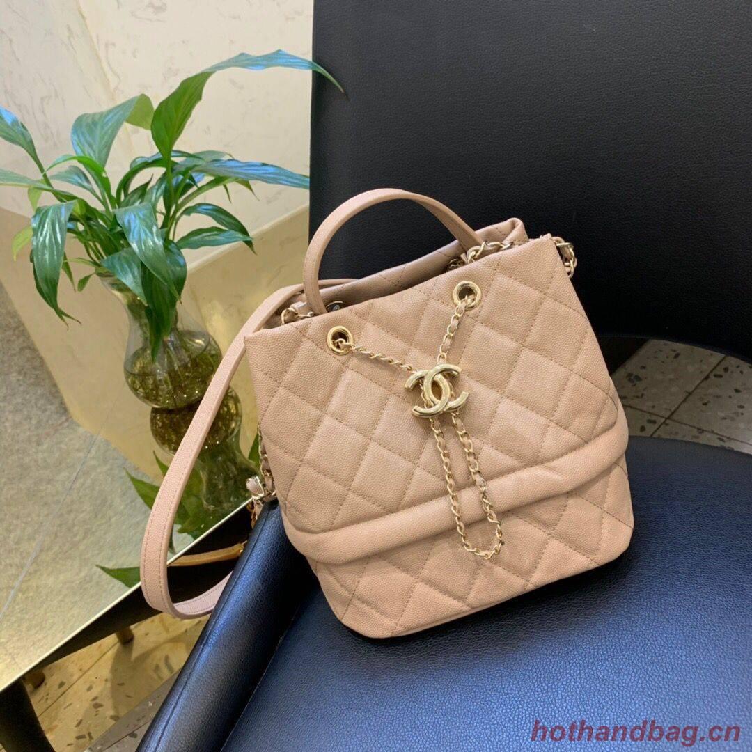 Chanel Original Leather Bag C5700 apricot
