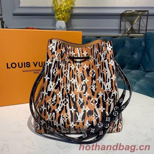 Louis Vuitton Original Leather Neonoe M44717 Brown