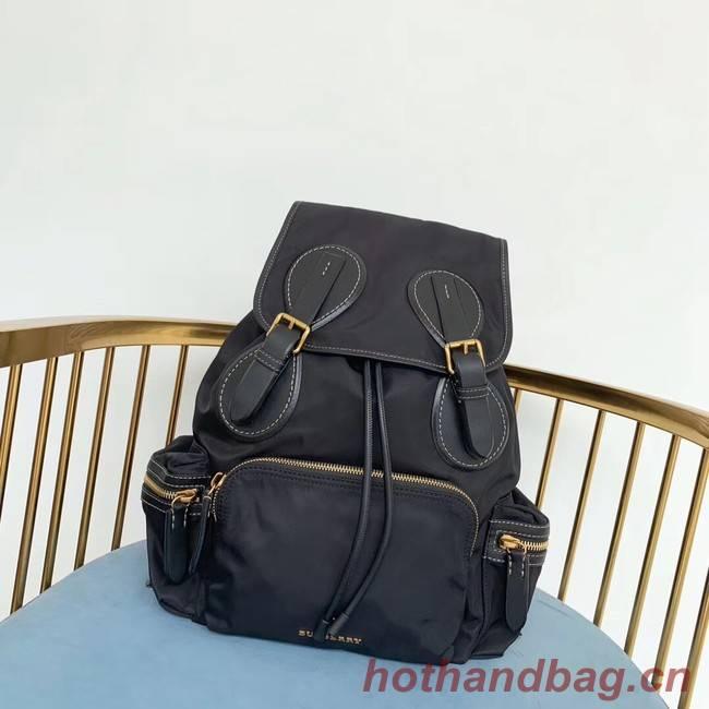 Burberry Large Backpack Fabric BU3699 black