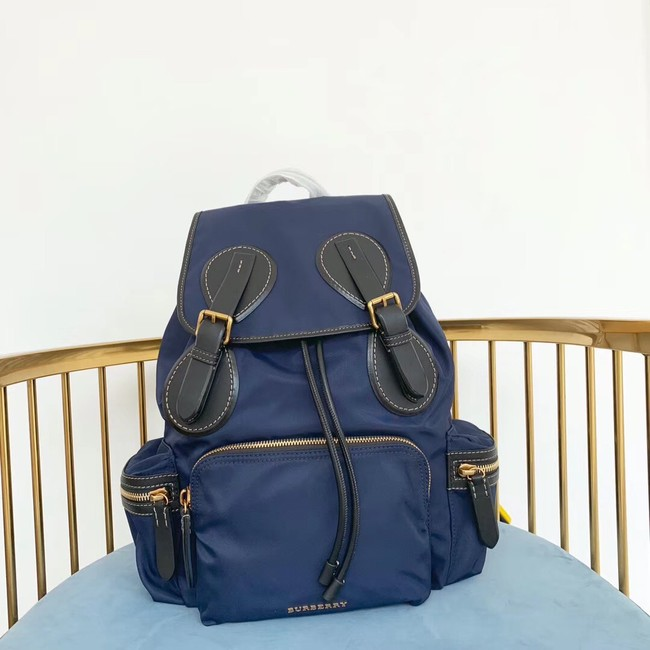 Burberry Large Backpack Fabric BU3699 blue