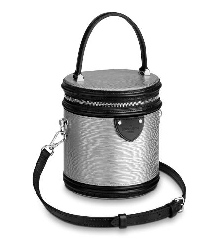 Louis vuitton original epi leather CANNES bag M55316 Argent