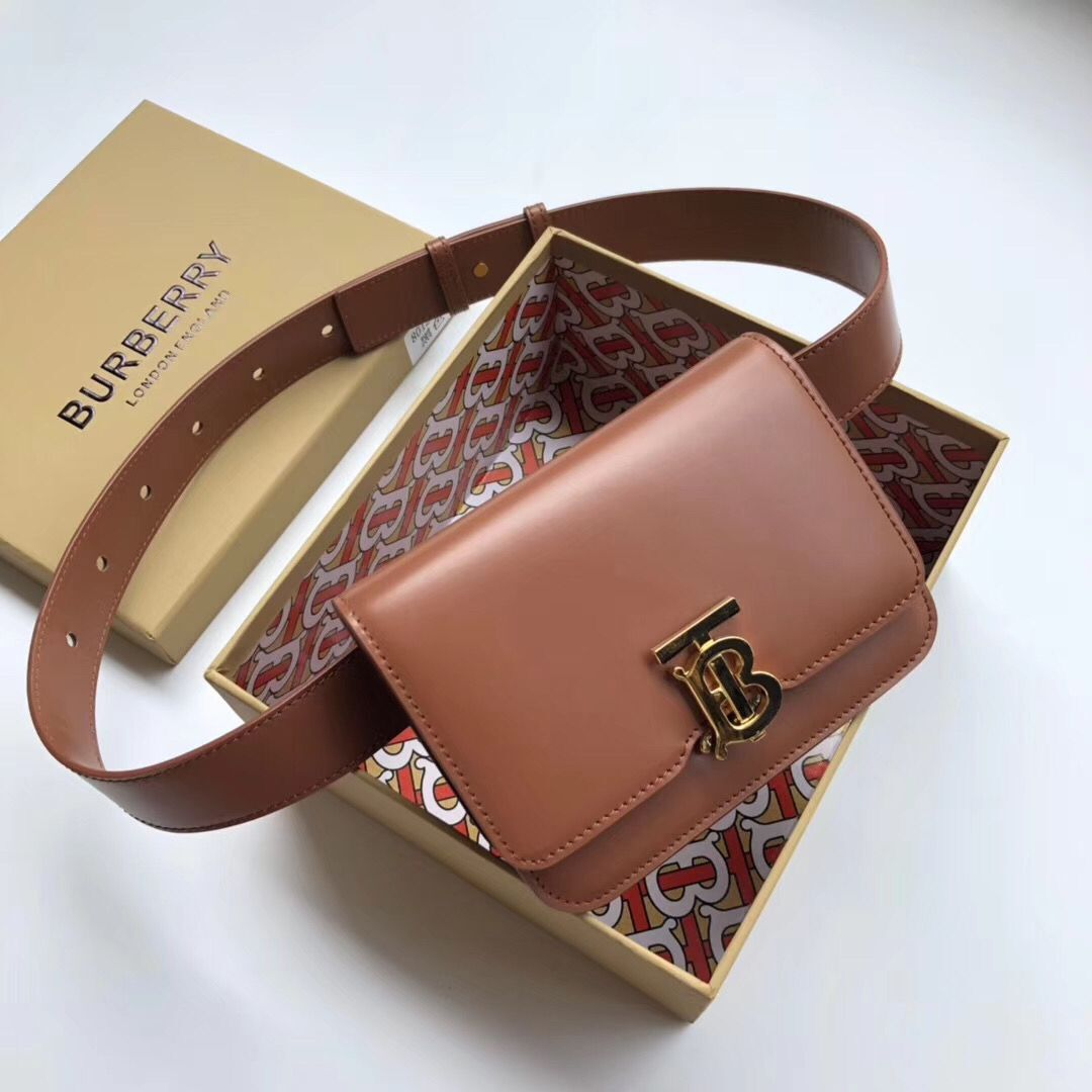 BurBerry Original Leather Thomas Belt Bag BU55699 Brown