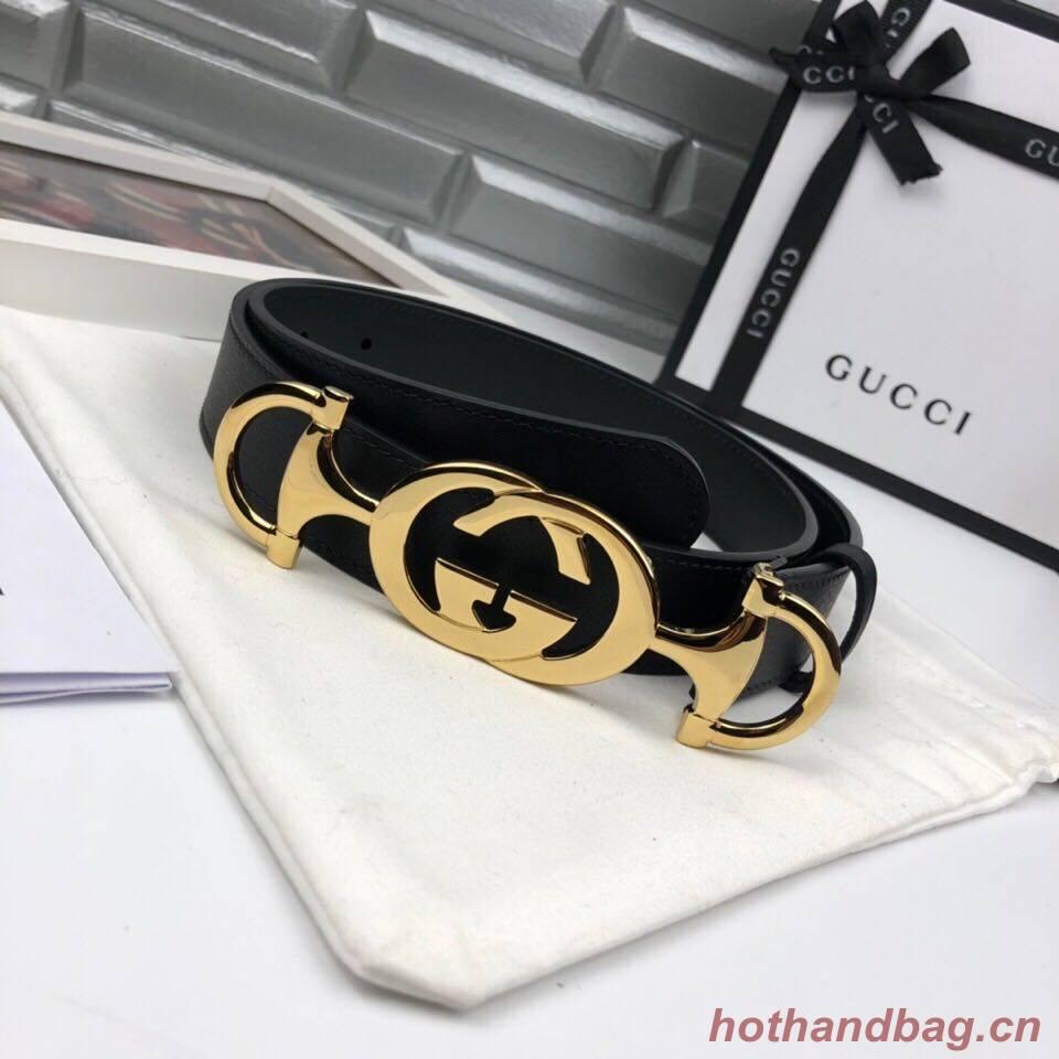 Gucci Belt GB18218 Black