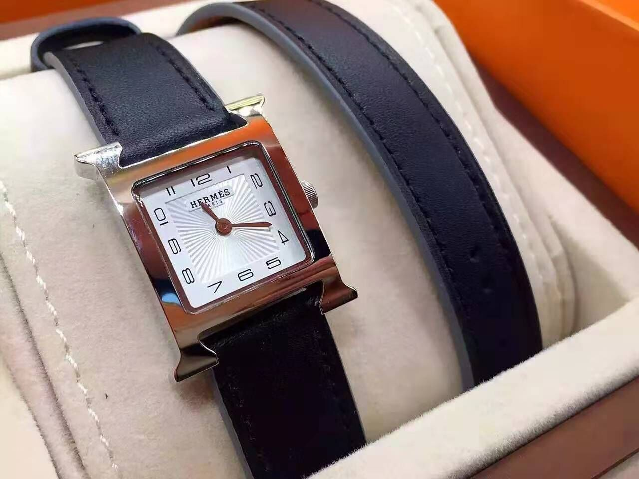 Hermes Watch HM69312 Black