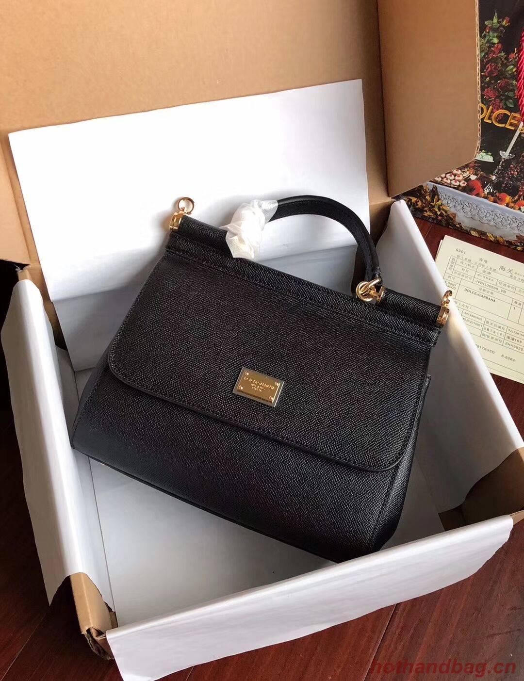 Dolce & Gabbana SICILY Bag Calfskin Leather BB4136TAC