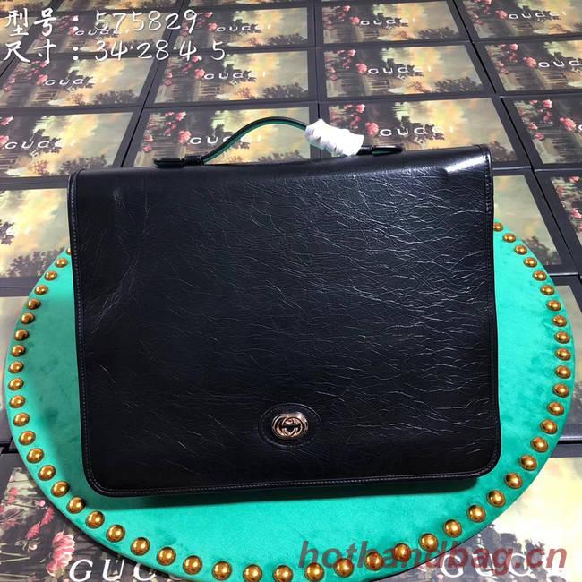 Gucci GG Original Leather tote bag 575829 black