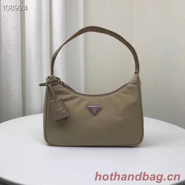 Prada Re-Edition 2000 nylon mini-bag 1NE515 Khaki