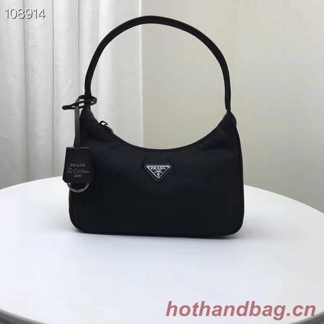Prada Re-Edition 2000 nylon mini-bag 1NE515 black
