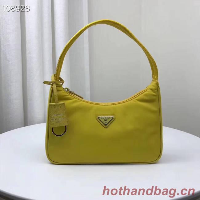 Prada Re-Edition 2000 nylon mini-bag 1NE515 yellow