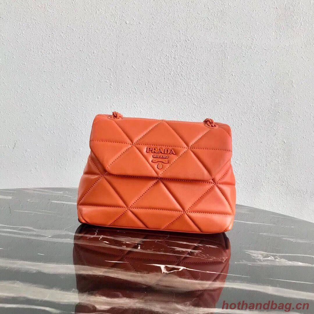 Small Prada Spectrum shoulder bag 1BD233 Orange